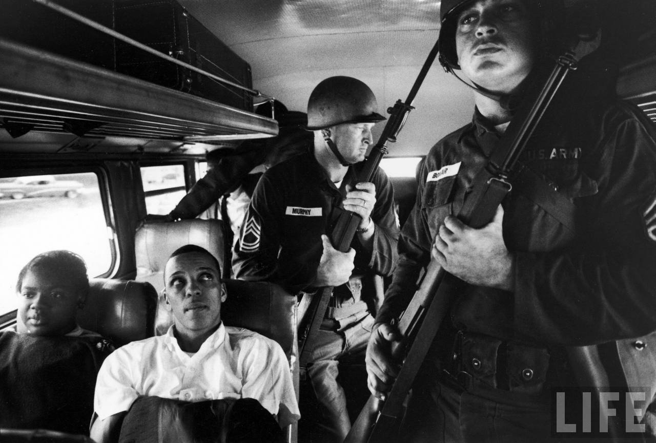 Freedom Riders were civil rights activists who rode interstate buses into the segregated southern United States in 1961