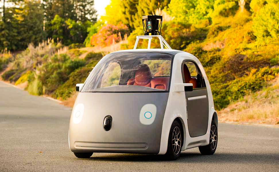 Google self-driving car is any in a range of autonomous cars, developed by Google X