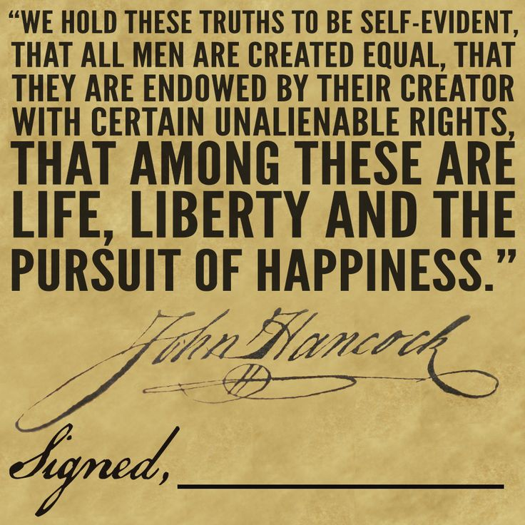 Life Liberty And The Pursuit Of Happiness Quote: Independence Day: Retaining Hope In The Power Of The